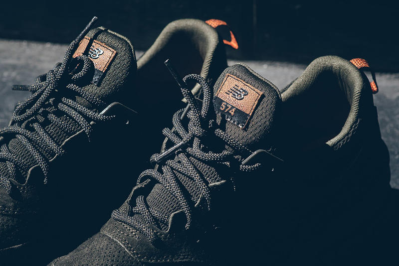 sneakers for cheap b4f55 caa7c New Balance Releases 574 Sport in Olive Green | HYPEBEAST