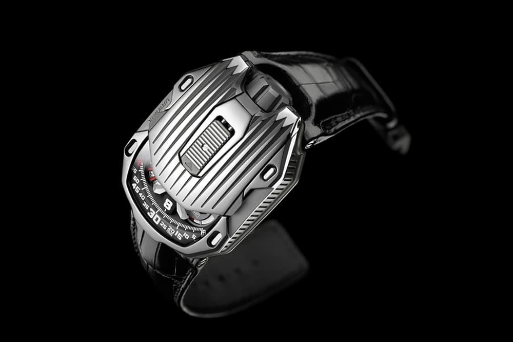 Urwerk UR 105 CT Streamliner Watches Accessories 20th Anniversary Limited Edition Titanium Black PVD