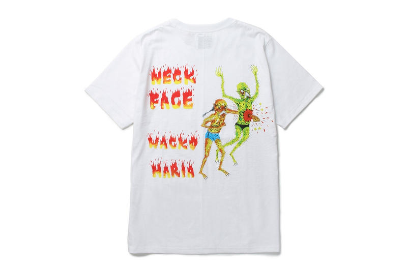 Wacko Maria x Neck Face Tokyo Paradise Collaboration Graffiti Graphics