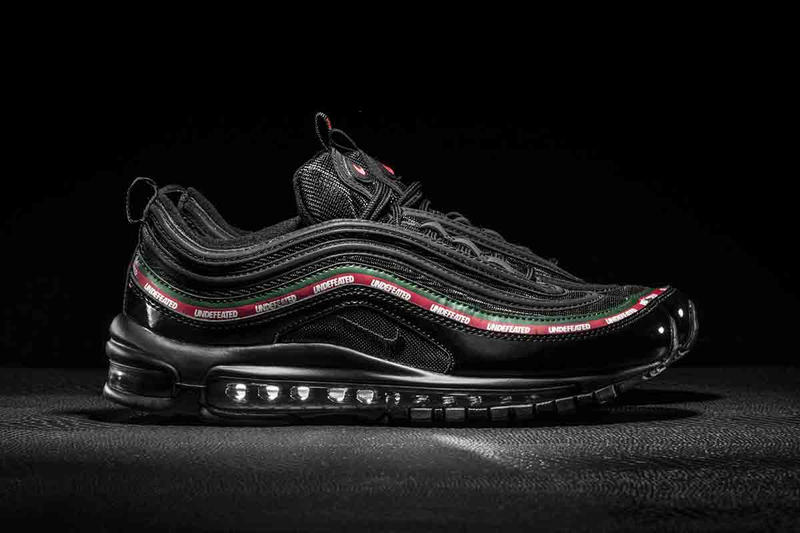 various colors a8b90 80f7b A Closer Look at the UNDEFEATED x Nike Air Max 97