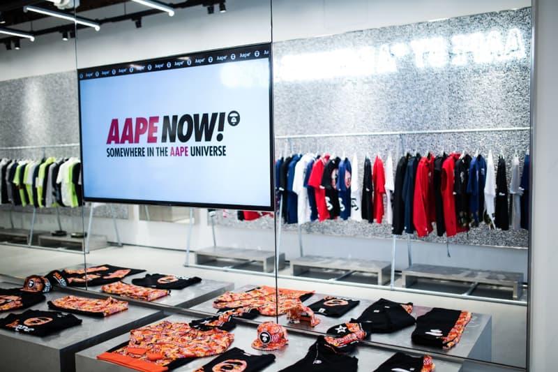 AAPE by A Bathing Ape LA Store
