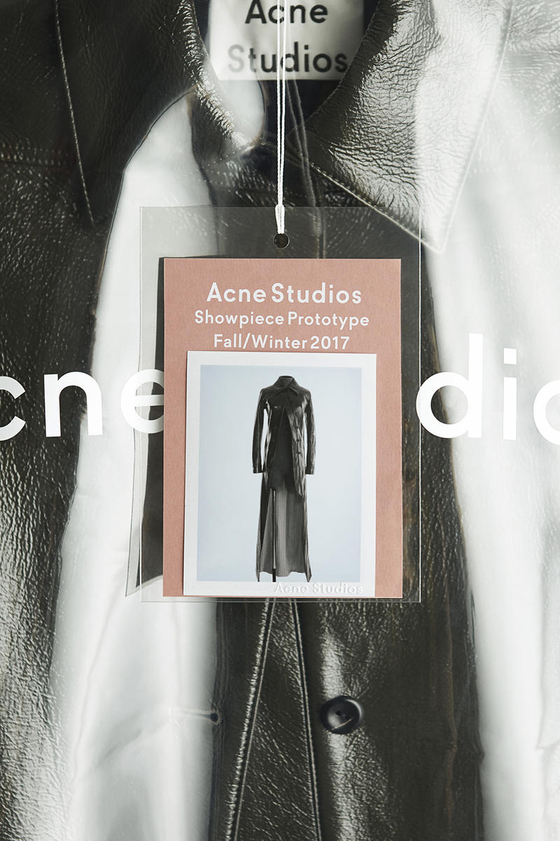 Acne Studios Showpiece Prototype Exclusive Limited Range Leather Jacket