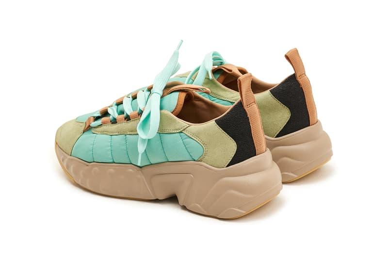 Acne Studios Sofiane Sneakers Mint Green 2017 September Fall Winter Release Date Info Shoes Footwear Tres Bien dad ugle bulky