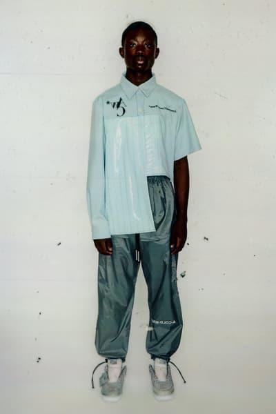 A COLD WALL Samuel Ross Spring Summer 2018 Lookbook Tops Bottoms Jackets Vests Pants Shirts Tees