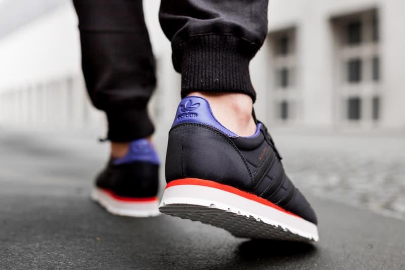 adidas Core Black White Haven Silhouette Sneaker Afew Runner