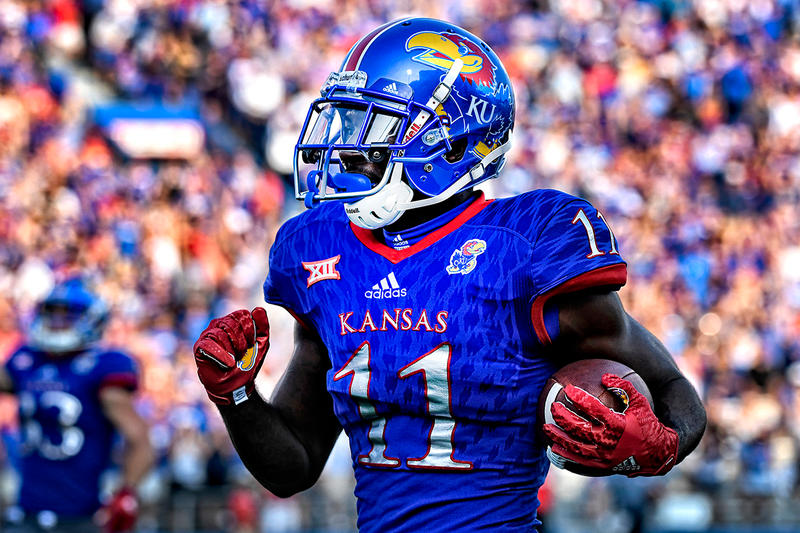 adidas University of Kansas Jayhawks Football