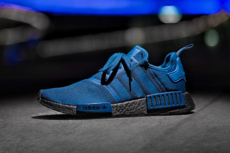 "adidas NMD R1 ""Black/Blue"""