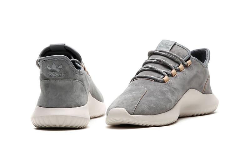 adidas Tubular Shadow Grey Three Crafted Leather