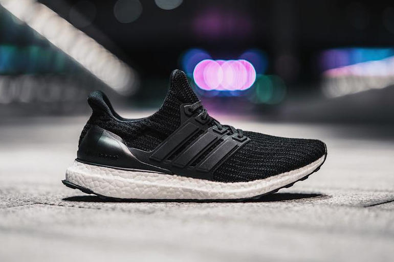 size 40 1e9ac 50f7d adidas UltraBOOST 4.0 Core Black Footwear Sneakers Running Shoes Three  Stripes