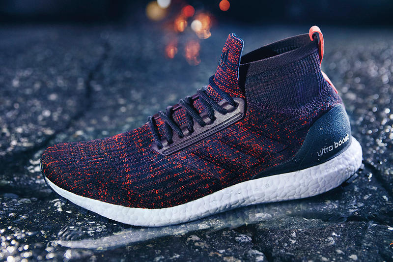 ccb0c0b42db adidas UltraBOOST ATR Mid Dark Burgundy Orange 2017 September 21 Release  Date Info Sneakers Shoes Footwear