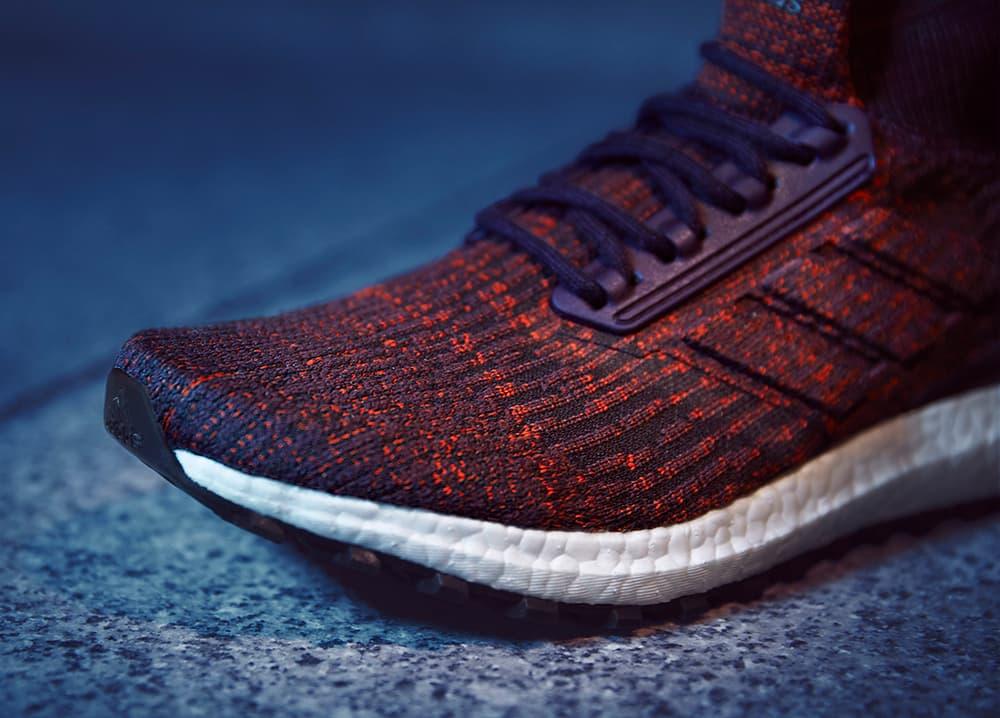adidas UltraBOOST ATR Mid Dark Burgundy Orange 2017 September 21 Release Date Info Sneakers Shoes Footwear
