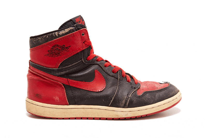 Artist Dave White Air Jordan 1 OG Bred Paint Splatter DIY Art Artwork