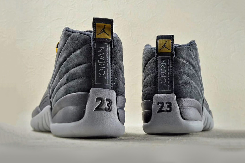 8395ab10864cf Air Jordan 12 Gets Chromatic Grey Makeover for Fall