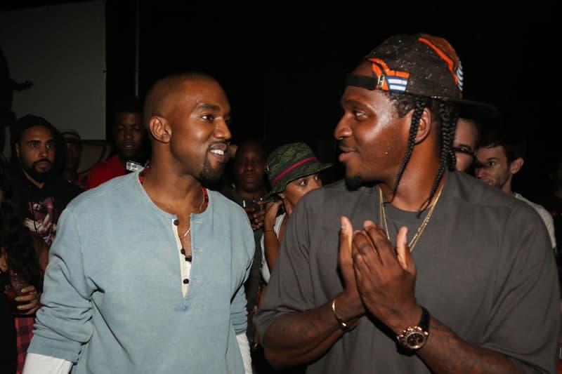 Kanye West Pusha T Record King Push Three Times