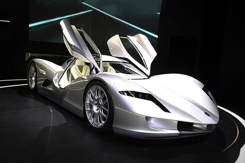 "Aspark Japan ""Owl"" Electric Supercar Concept Vaporware Chasis Production"