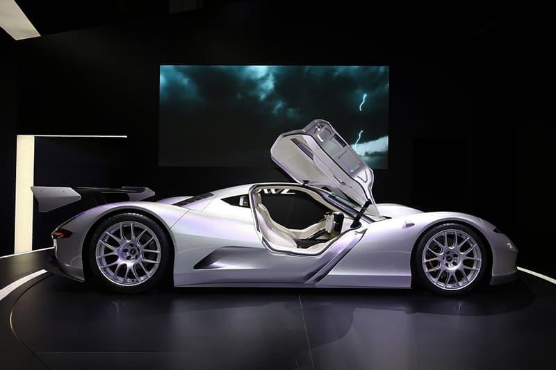 """Aspark Japan """"Owl"""" Electric Supercar Concept Vaporware Chasis Production"""