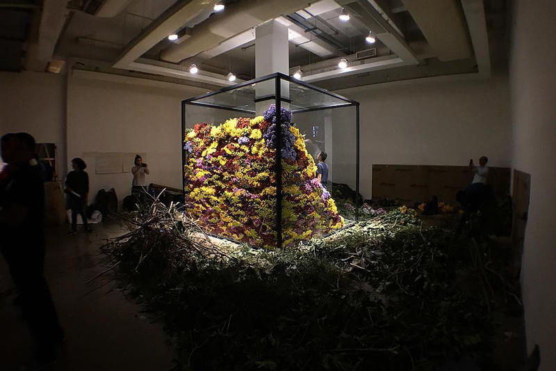 Azuma Makoto Composes and Decomposes Flowers at Rio Exhibit