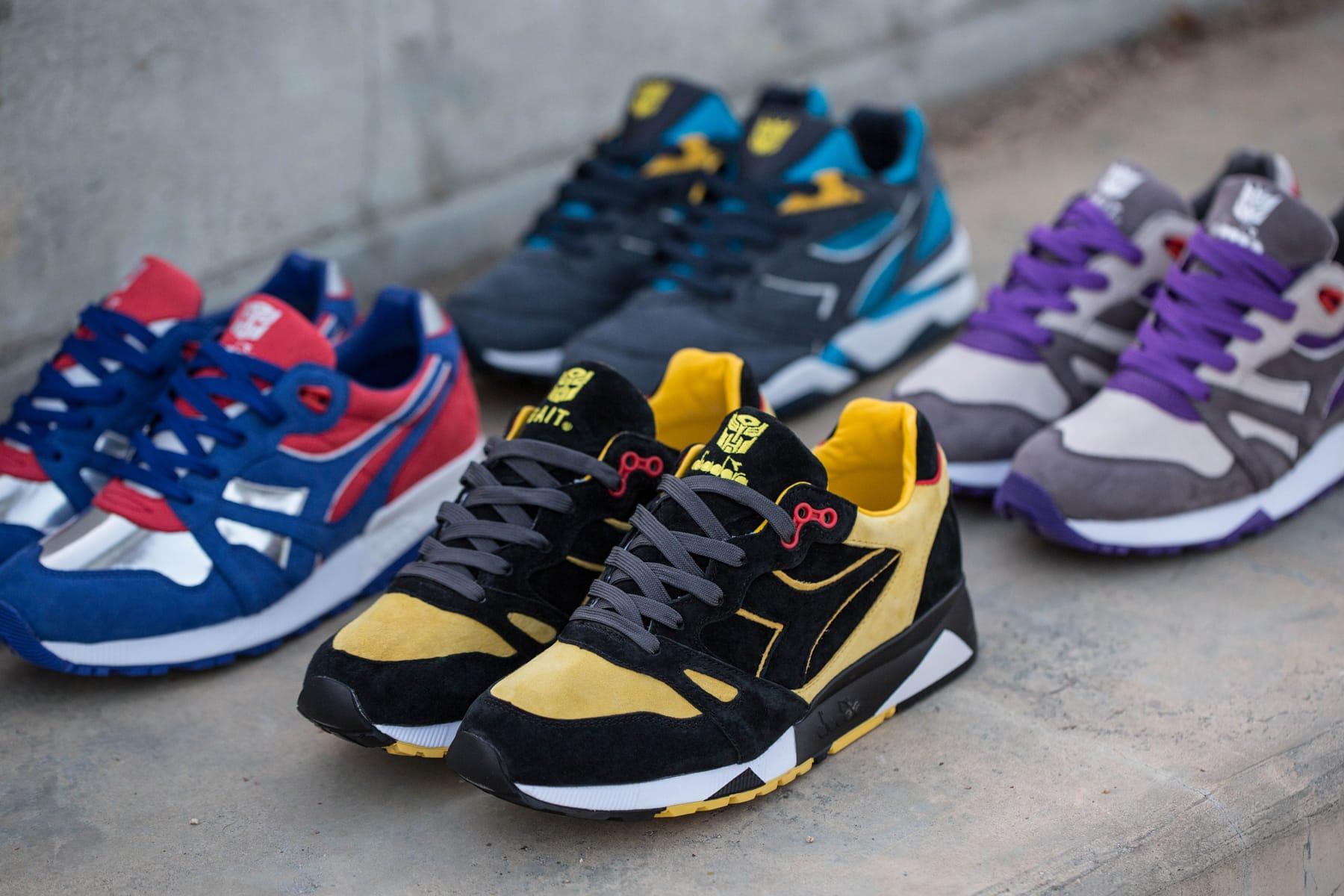 BAIT x Diadora x Transformers Sneaker