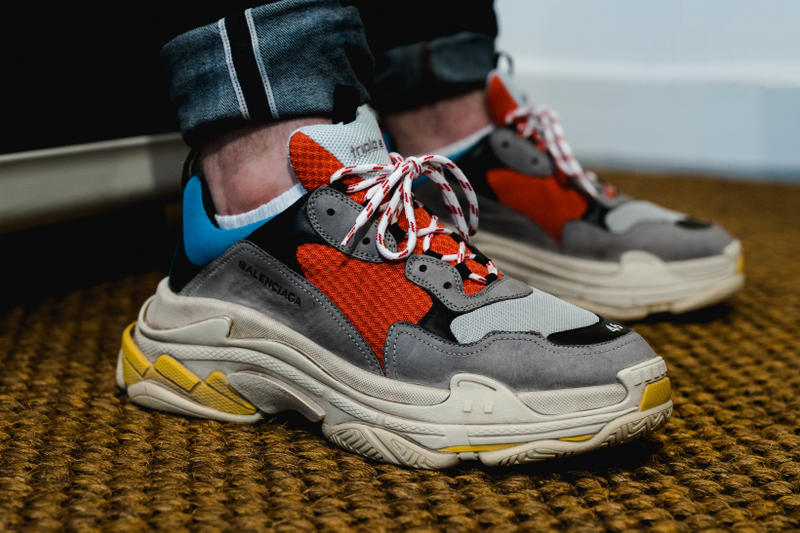 9da49fb28818 Balenciaga Triple S Closer Look footwear trainer