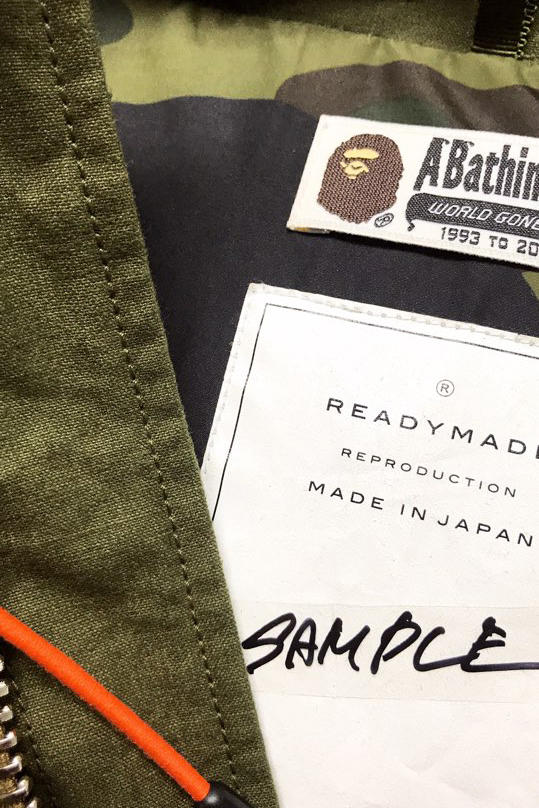 BAPE and READYMADE Collaboration Leak