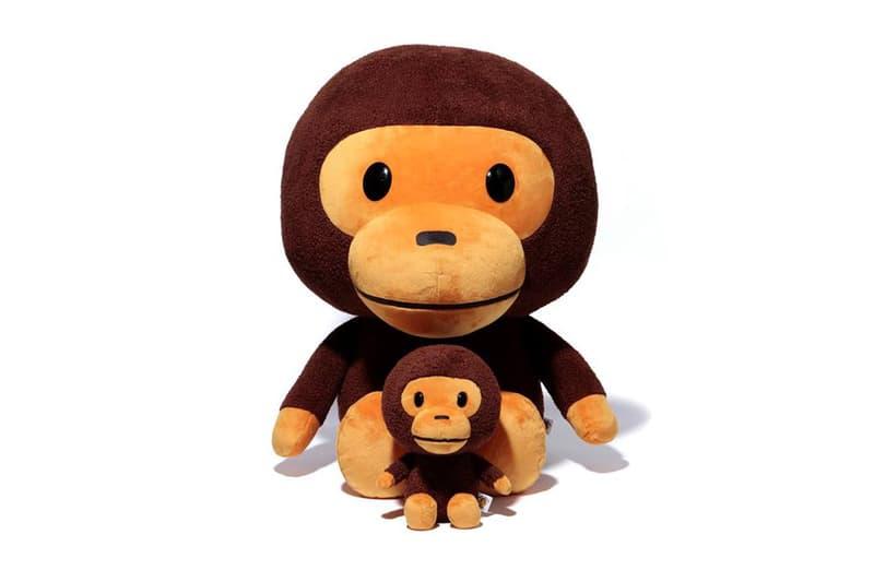 BAPE Baby Milo Plush A Bathing Ape Toy Doll Stuffed Animal