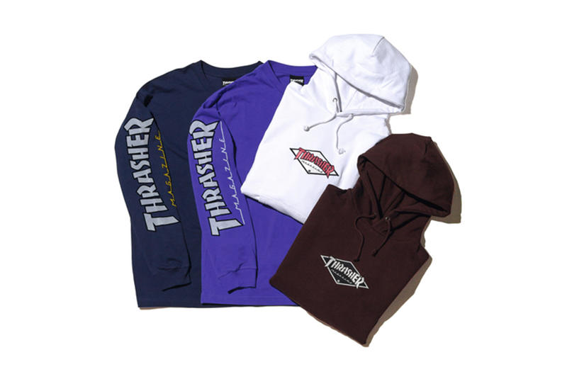 BEAUTY YOUTH Thrasher Fall Winter 2017 Collection Exclusive T Shirt Long Sleeve Hoodies Sweatshirt