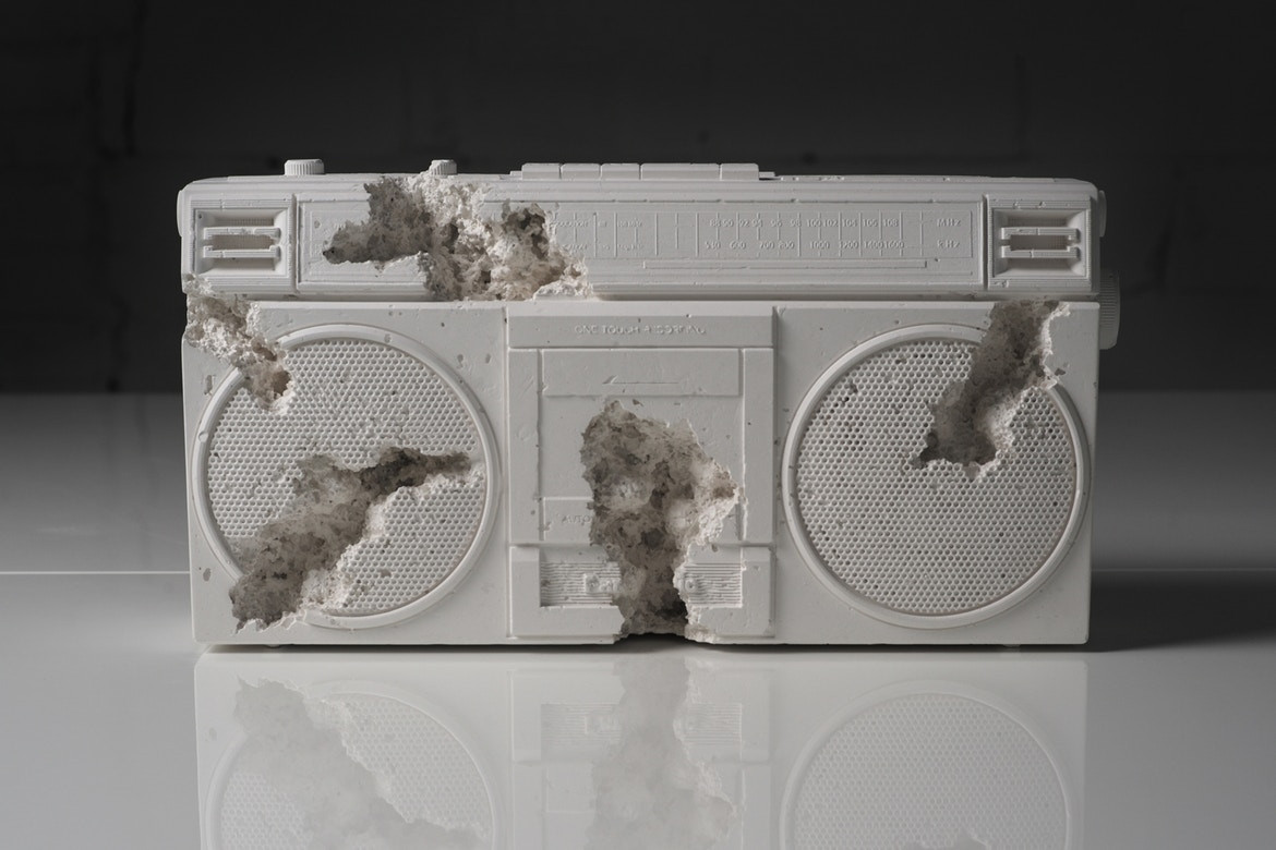 Banksy Walled Off Hotel Gift Shop Art Artwork Sculpture Daniel Arsham Future Relic 08 Tom Sachs Objects of Devotion Ari Marcopoulos Machine Frank Elbaz Gallery