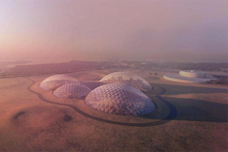 Bjarke Ingels Group Mars Simulation UAE Desert Build BIG
