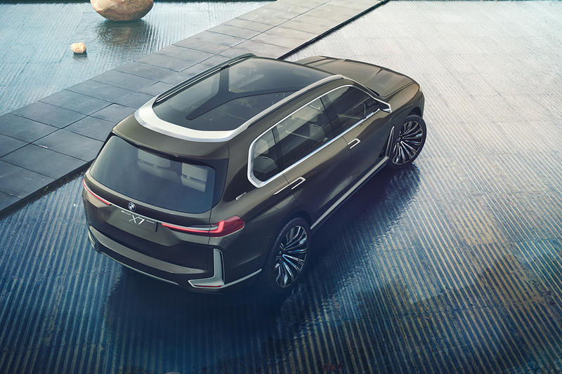 BMW Concept X7 iPerformace Photos SUV Frankfurt Auto Show
