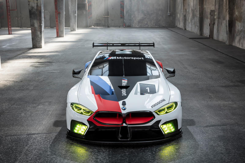BMW M8 GTE 2017 2018 6 Series Coupe Replacement le mans car sportscar racecar