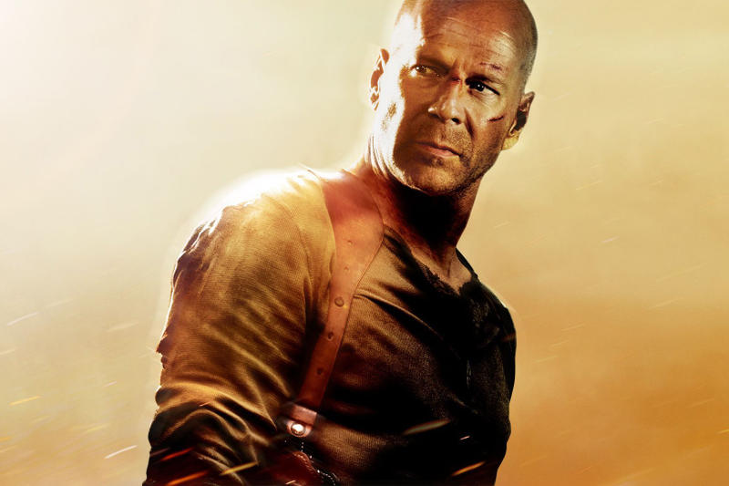 Bruce Willis New Die Hard Movie Len Wiseman John McClane