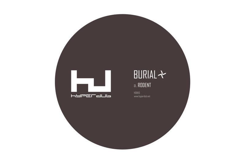 Burial Rodent Single Stream 2017 Track Bandcamp Hyperdub Kode9 Remix