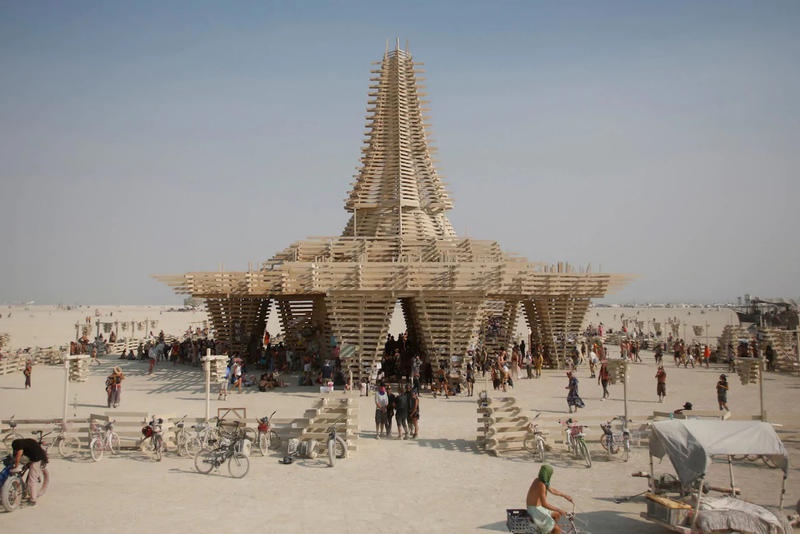 Burning Man Festival Black Rock Desert Nevada Art Artwork Installation sculptures 2017 august september Black Rock City desert nevada