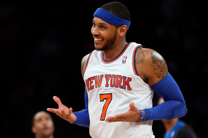 NBA Carmelo Anthony New York Knicks Knickerbockers Trade Oklahoma City Thunder