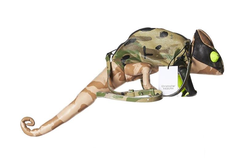 Christopher Raeburn Iguana Companion Bag Camo Multi Camouflage 2017 Fall Release Date Info