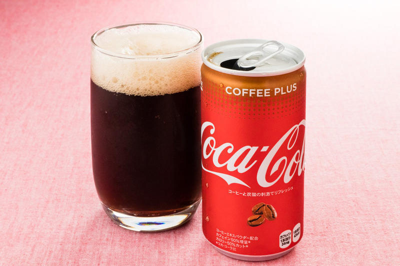 Coca Cola Coffee Plus Coke BlāK Soda Soft Drink Japan Vending Machine Black