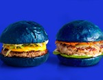 colette teams up with Blend for Blue Bun Cheeseburgers