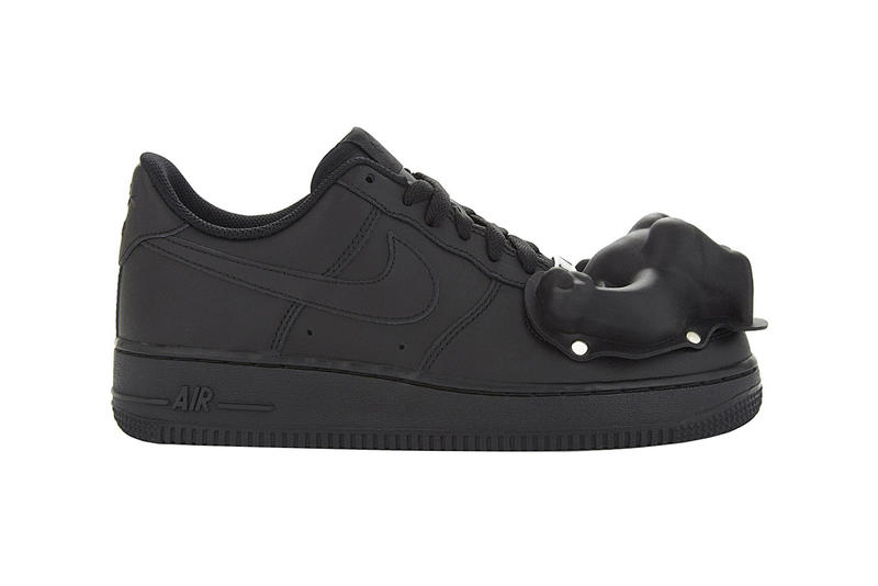 2db81a85e432 COMME des GARCONS x Nike Air Force 1 Available Now Closer Look