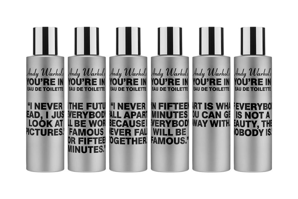 COMME DES GARÇONS PARFUM ANDY WARHOL YOURE IN Unisex Fragrance Perfume Cologne Scents Coca-Cola
