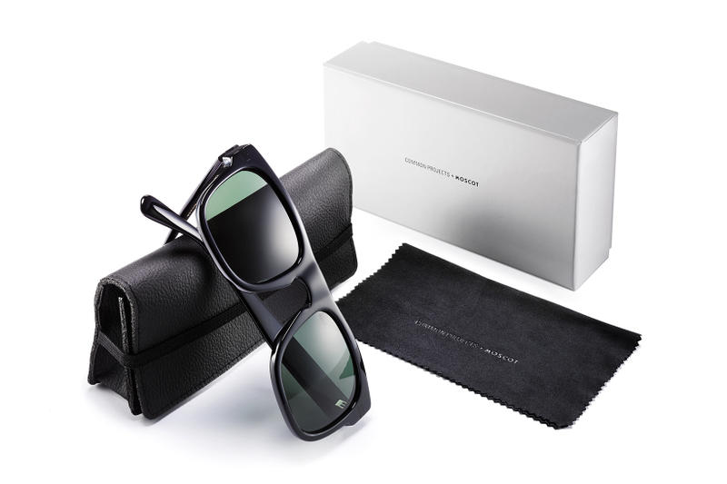 Common Projects MOSCOT TYPE ONE Shiny Sunglasses Collaboration 2017 September Release Date Info