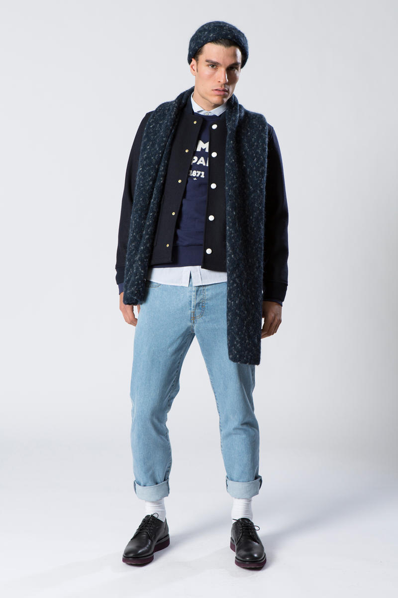 Commune de Paris Fall Winter 2017 Lookbook Lookbooks Tourist Jackets Sweaters Pants Jeans Tops Bottoms French