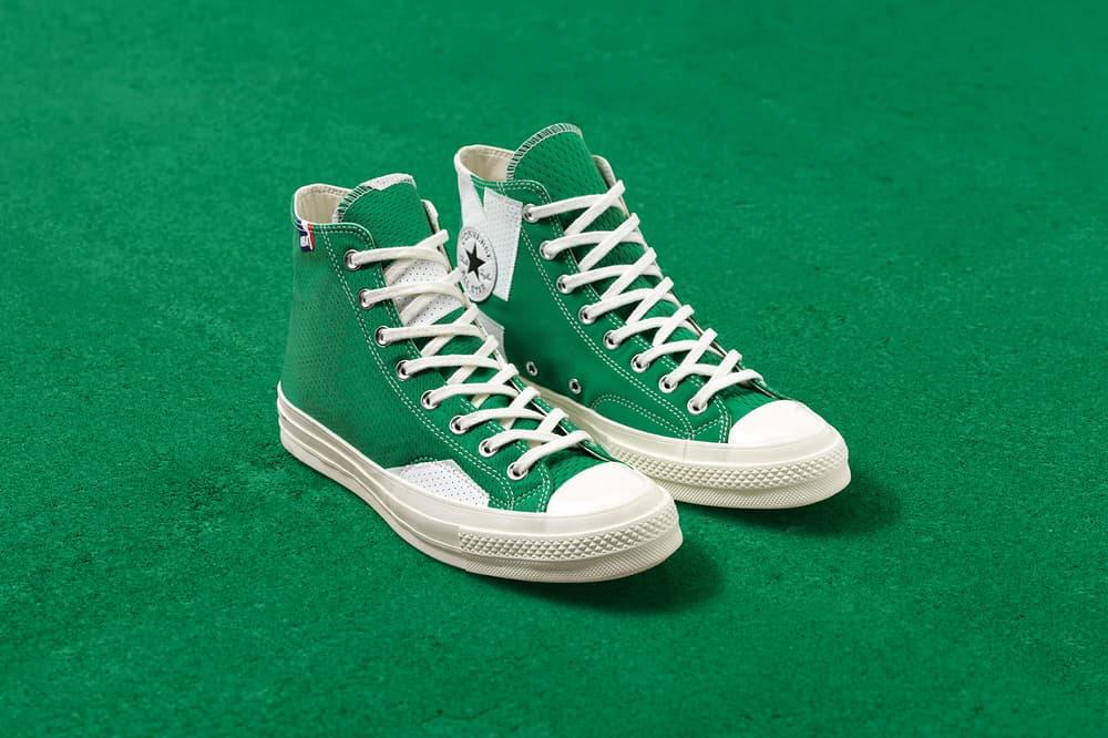 Converse NBA Collection Chuck Taylor All Star footwear apparel New York Knicks Golden State Warriors Boston Celtics LA Lakers Chicago Bulls Release Info Date Drops September 29