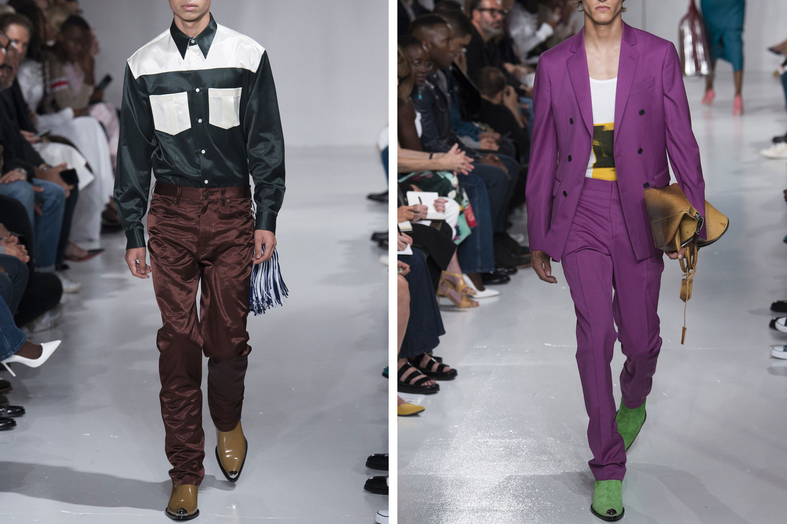 Fall Footwear Trends 2017 Cowboy Boots Calvin Klein Vetements