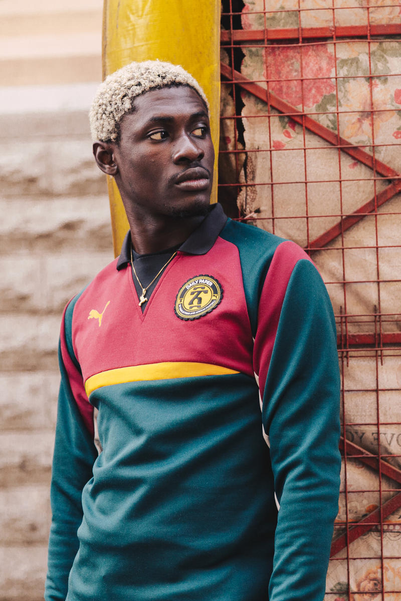 PUMA Daily Paper Fall/Winter 2017 Collection African Football Release Info Date September 16
