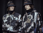 "Realistic ""Mosh-Pit"" Paintings Cover Dior Homme's Fall/Winter 2017 Collection"