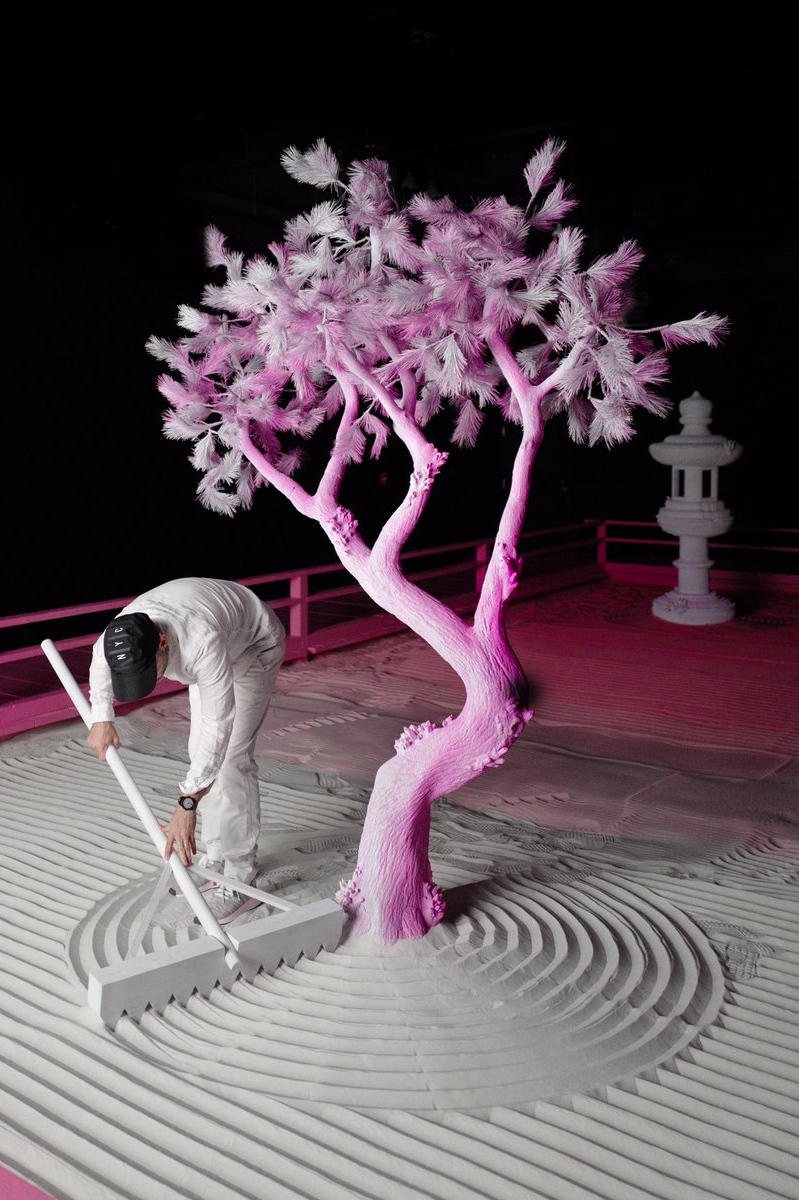 Daniel Arsham 'Lunar Garden' New York City