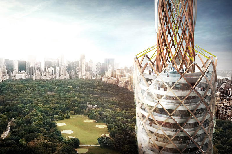DFA Central Park Observation Tower Proposal Clean Reservoir Water