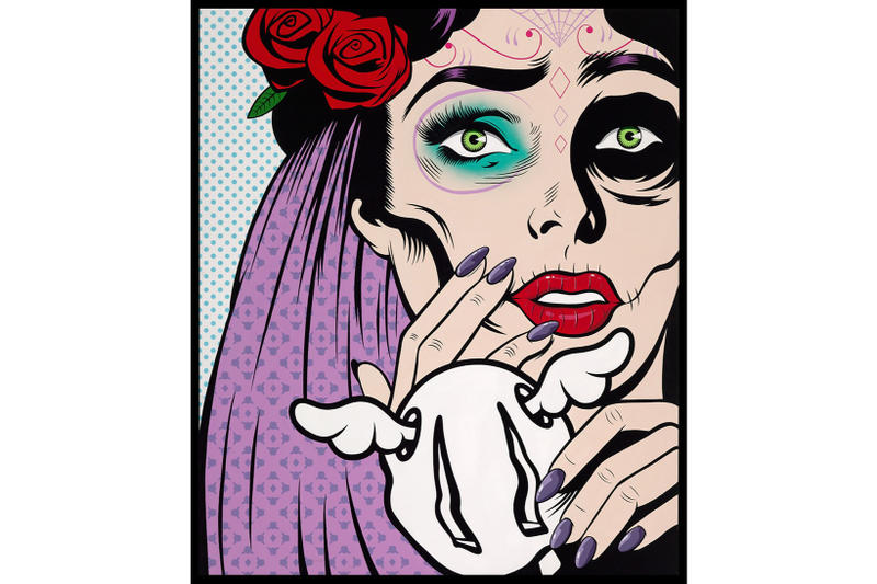 D*Face Corey Helford Gallery Art Artwork Artist Painting Los Angeles California Exhibit Exhibition