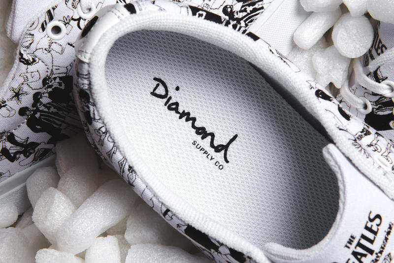 "Diamond Supply Co. New ""Beatles Avenue"" Sneaker The Beatles Yellow Submarine"