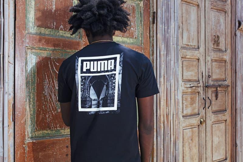 Distinct Life PUMA Monochrome Collection IGNITE Limitless Suede V2 Windbreaker Tee T Shirt